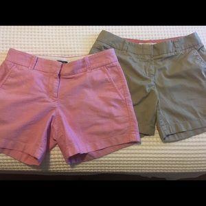 Set of J Crew Shorts